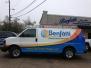 Benfatti AC and Heating Fleet Van Wraps