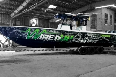 Wired Up Boat Wrap