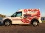 Honda Dealership & Powersports Transit Wrap