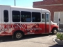 Partial Shuttle Wrap for PACE of New Orleans fleet