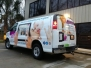 Peanut Butter & Jelly TV Van Wrap