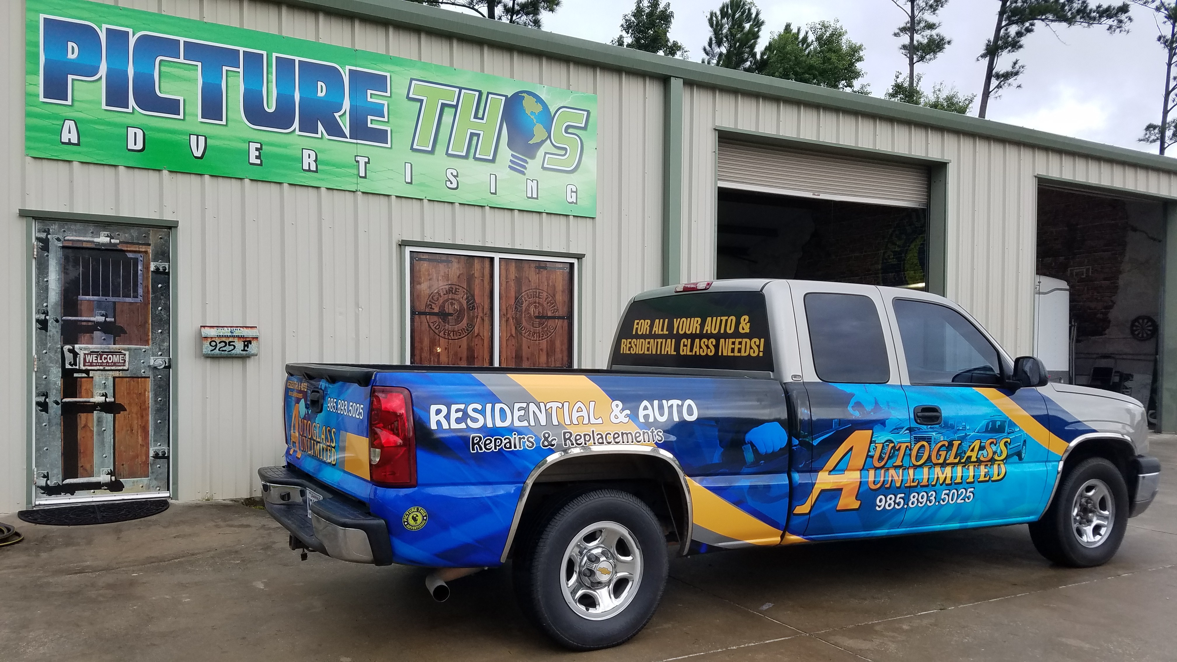Autoglass unlimited wrap archives picture this advertising for Department of motor vehicles mandeville la