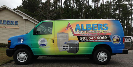 van wrap graphics