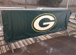 football barricade covers