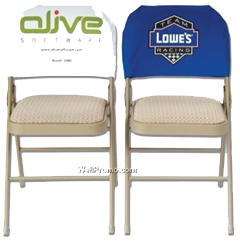 Custom Chair Back Covers Picture This Advertising