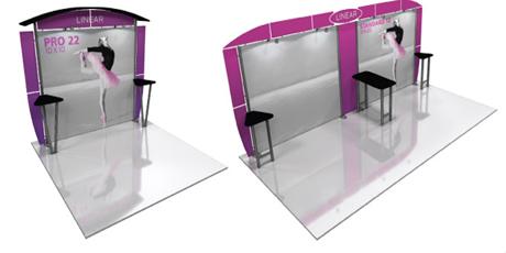 custom trade show booths Louisina