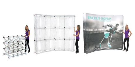 new orleans tradeshow backdrops
