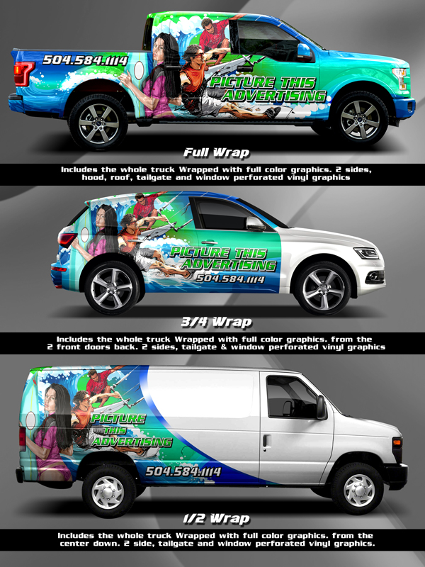 1134b37805 FAQ s for Vehicle Wraps - Picture This Advertising