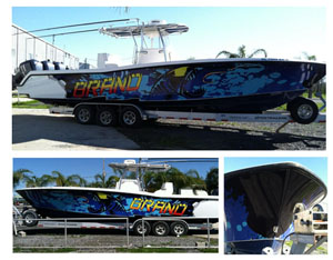 venice LA boat wraps