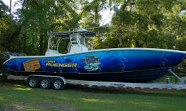 yellowfin boat wrap