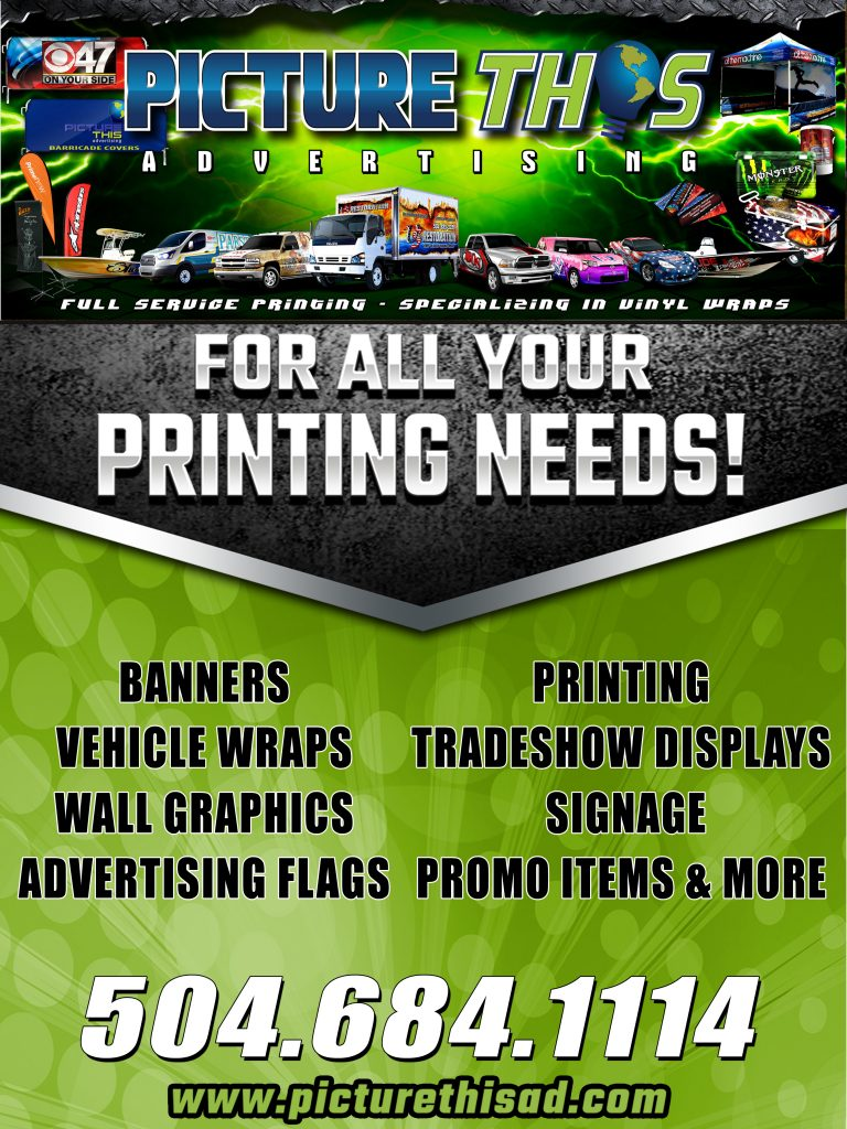 Picture This Advertising, for all your printing needs.