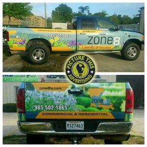 zone 8 truck wrap