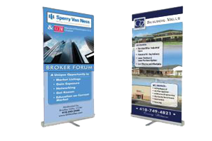 pull up banner display
