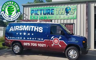 Airsmith van wrap